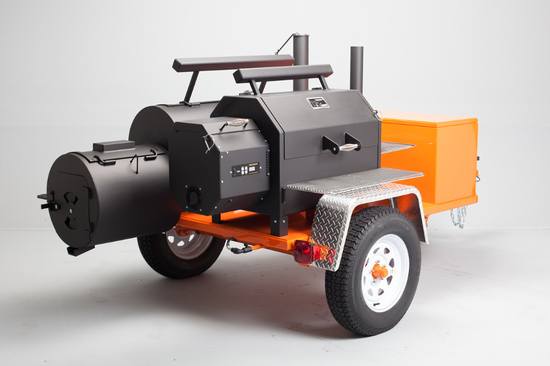 Hybrid Offset + Pellet Smoker done before? - The BBQ